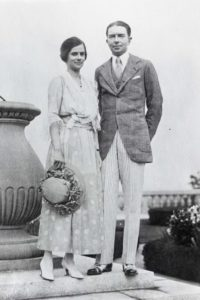 Ruth Wales du Pont and Henry Francis