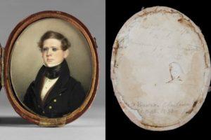 Portrait miniature of Dr. Alexander Baron