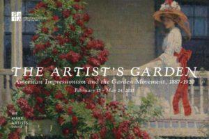 The Artists Garden exhibition