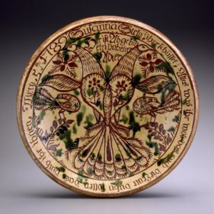 earthenware dish