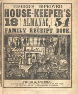 cover to House-Keepers Almanac