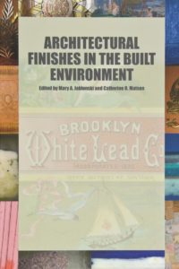 cover of Architectural Finishes in the Built Environment