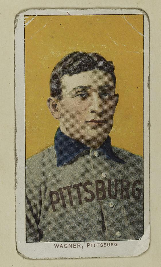 Honuse Wagner baseball card