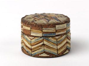 Box, unknown Mi'kmaq artist.
