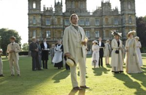 downton abbey lead image people and castle